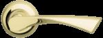 Ручка раздельная Armadillo Corona GP/SG (золото/матовое золото)