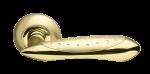 Ручка раздельная Armadillo Corvus SG/GP (матовое золото/золото)