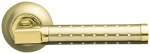 Ручка раздельная Armadillo Eridan SG/GP (матовое золото/золото)